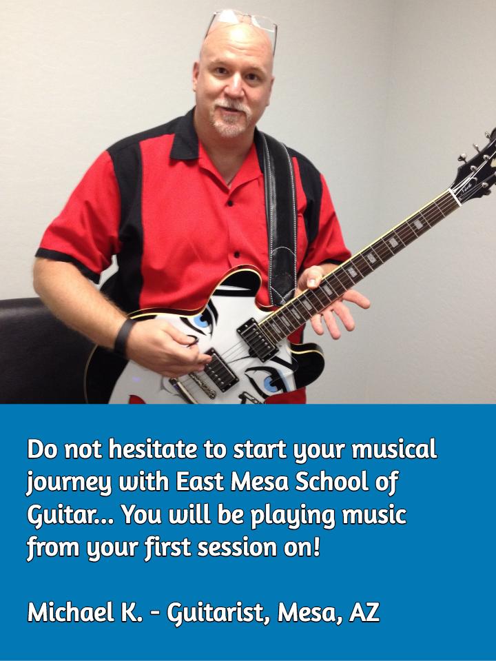 Blues Guitar Lessons in Mesa